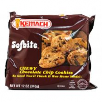 Kemach Sofbite Chocolate chip Cookie  Brown 340G