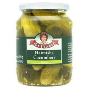 Mrs.ELSWOOD Haimisha Cucumbers - 6 PACK
