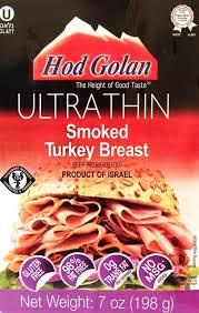 Ultra Thin Smoked Turkey Breast 198G