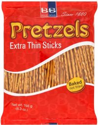 Beigel Beigel Pretzels Extra Thin Sticks 150G