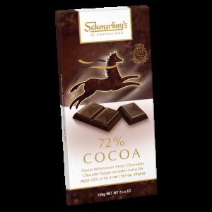 72% Cocoa (Parve) 100G