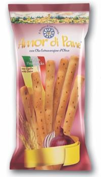 AMOR DI PANE Breadsticks Onion 125G