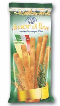 AMOR DI PANE Breadsticks Rosemary  125G