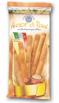 AMOR DI PANE Breadsticks Sesame  125G
