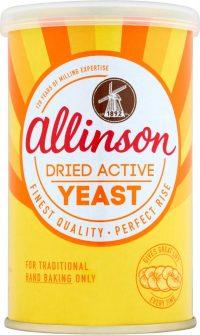 Allinson Dried Yeast Drum 125G