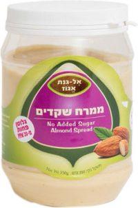 Almond Spread Sugar Free El Ginat Egoz 350G