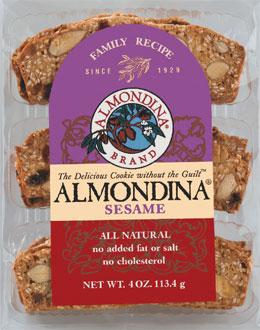 Almondina Sesame 113G
