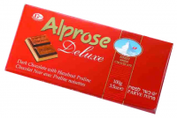 Alprose Deluxe Parve Chocolate Bar 100G