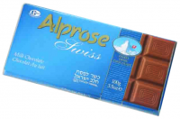 Alprose Swiss Milk Chocolate Bar 100G