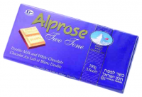 Alprose Swiss TwoTone Chocolate 100G