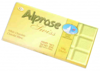 Alprose Swiss White Chocolate Bar 100G