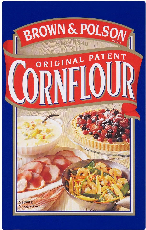 B & P Cornflour 500G