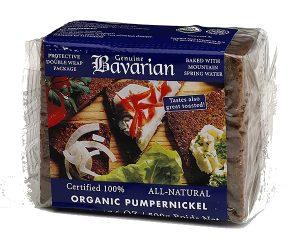 BAVARIAN Organic Pumpernickel  500g