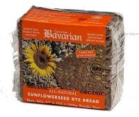 BAVARIAN Organic Sunflower Rye Bread  500g