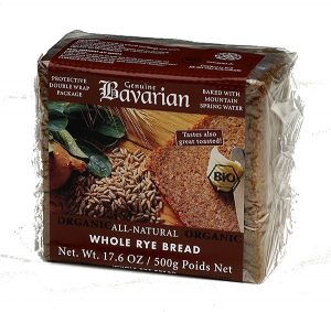 BAVARIAN Whole Rye Bread  500g