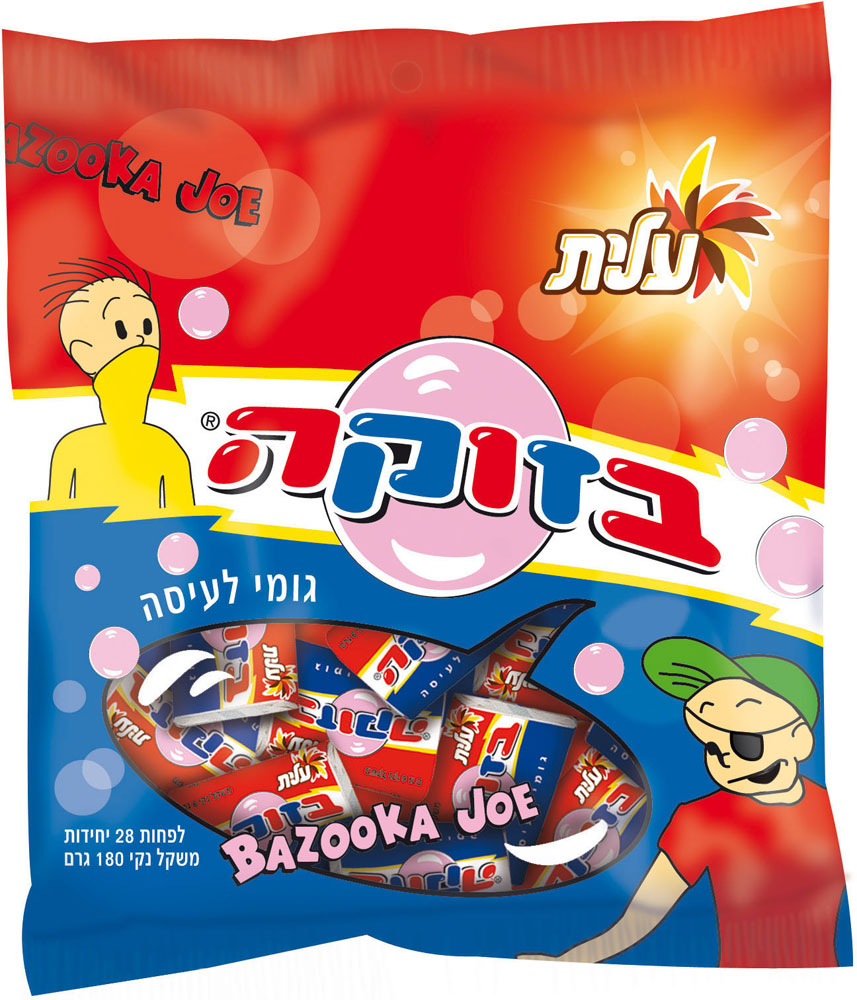Bazooka Original Fruit Gum In Bag 180G