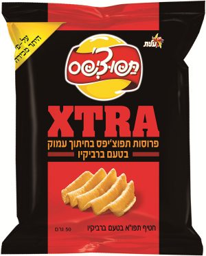 BBQ Potato Chips Extra (Tapuchips) 50G