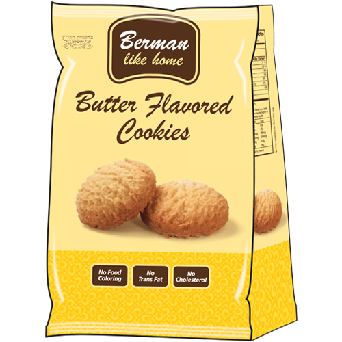Berman Butter Flavered Cookie 250G