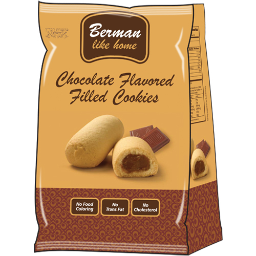Berman Chocolate Filled Cookie 200G
