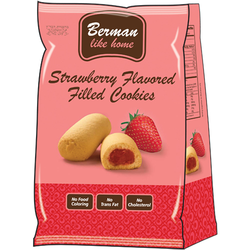 Berman Strawberry Filled Cookie 200G