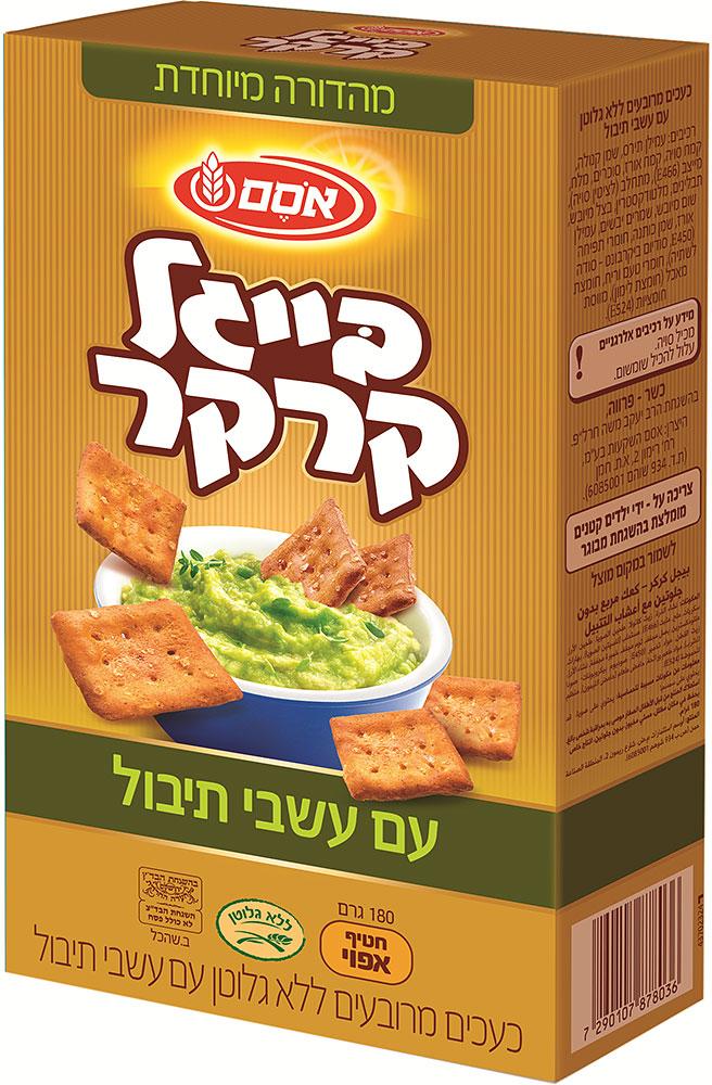 Bagels Cracker Gluten Free with Herbs Osem 180G