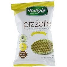 Bakol Mini Pizzelle Lemon Small 24G