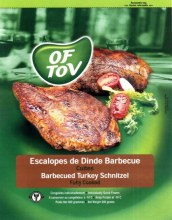 Barbecued Turkey Schnitzels 600G