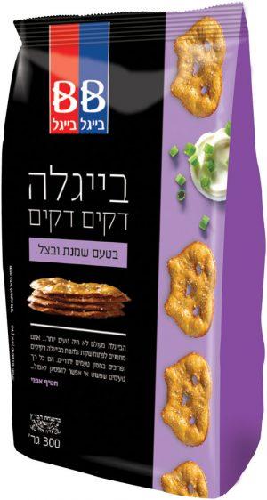 Beigel Beigel Dakim  Pretzel Sour Cream & Onion  300G