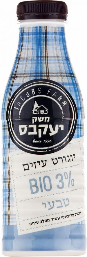 Bio Goat Yogurt 3% Jacobs Farm 500ml