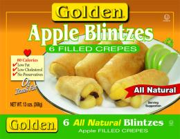 Blintzes Apple 340G