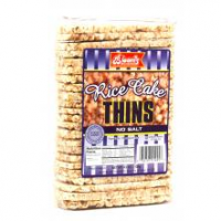 Blooms Rice Cake Thins Plain 130G