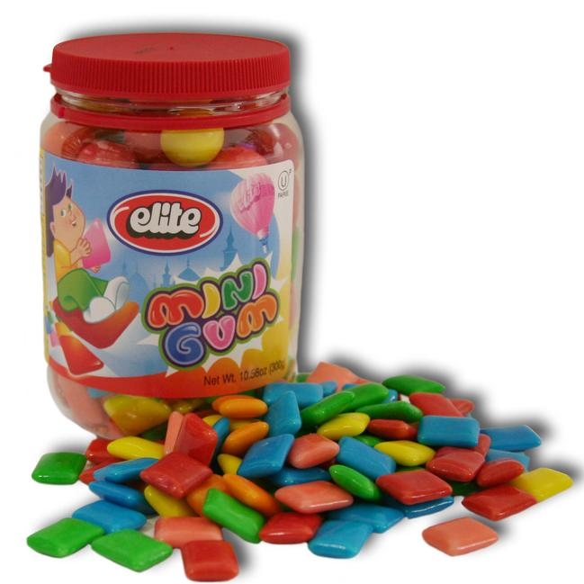 Chicklets Gum In Jar 300G