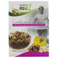 Cereal For Me Crunchy Muesli Fruit 375G
