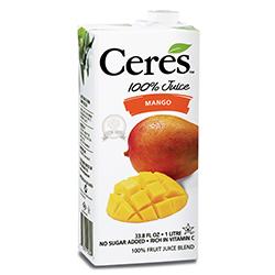 Ceres 100% Fruit Juice Mango 1L