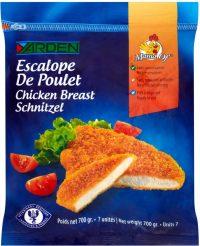 Chicken Breast Schnitzel 700G