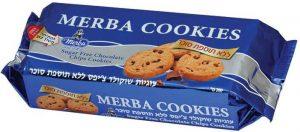 Chocolate Chip Cookies Sugar Free Merba 200G