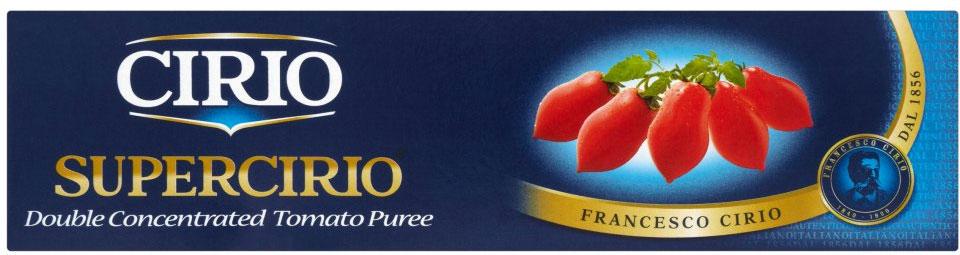 Cirio Tomato Puree Tins 140G