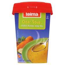 Clear Soup Tubs 400G
