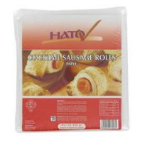Cocktail Sausage Rolls  (In Pastry) 400G
