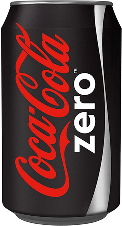Coke Zero Cans 330ml