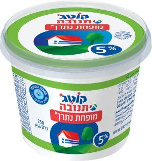 Cottage Cheese 5% Reduced salt Tnuva 250G