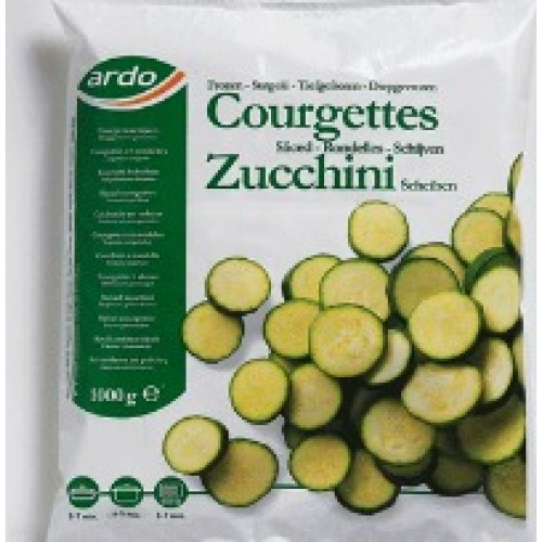 Courgettes Sliced 1KG