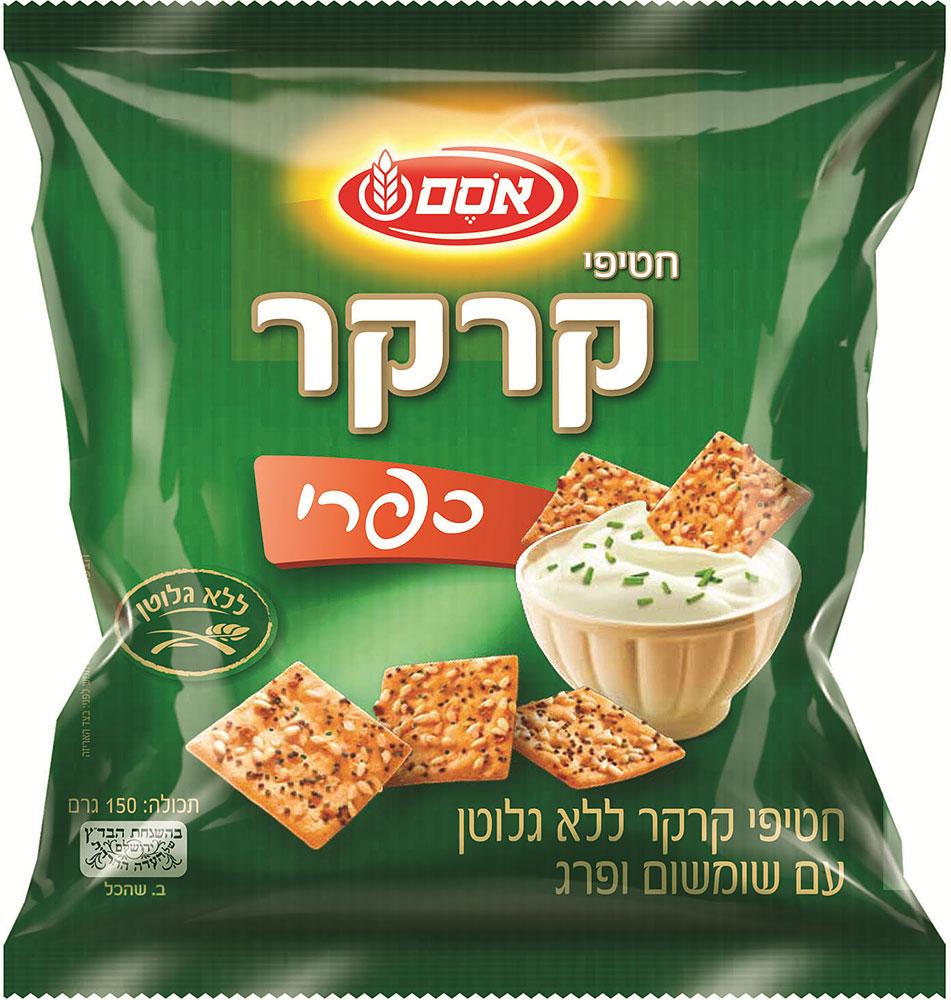 Cracker Snacks Gluten Free Rustic Flavor Osem 150G