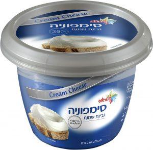 Cream Cheese 25% Symphony 210G