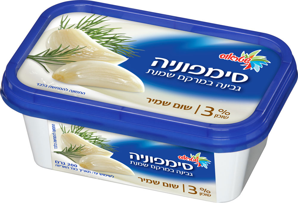 Cream Cheese 3% with Garlic & Dill  Symphony 200G
