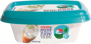 Cream Cheese 5% with Onion Tnuva 200G