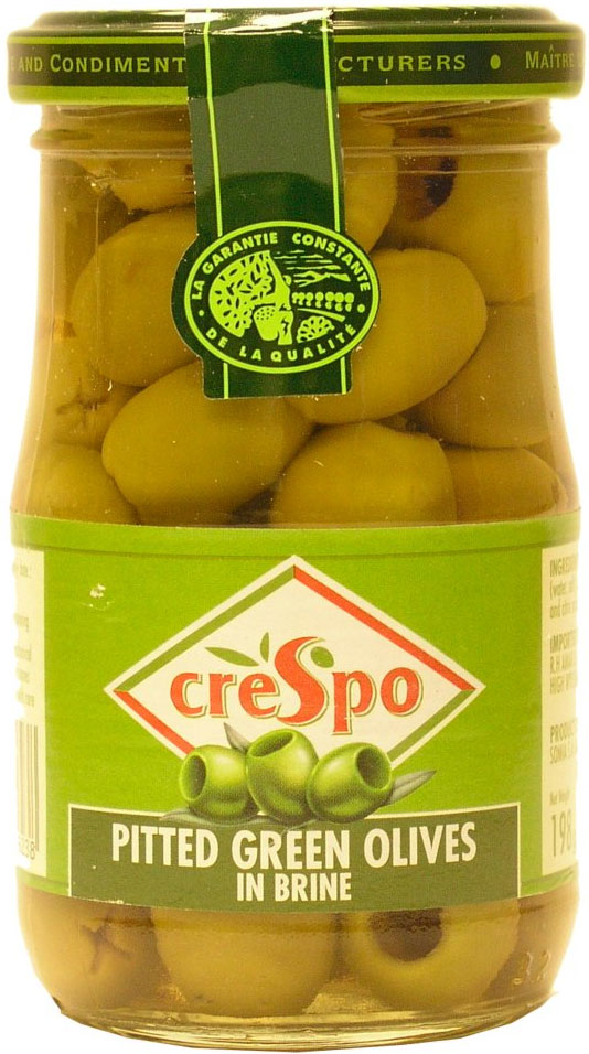 Crespo Pitted Green Olive 200G