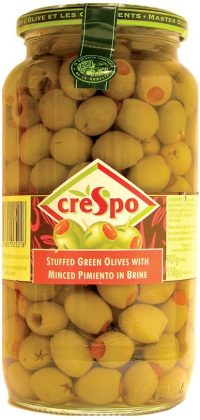 Crespo Stuffed Pimento Green Olives 907G