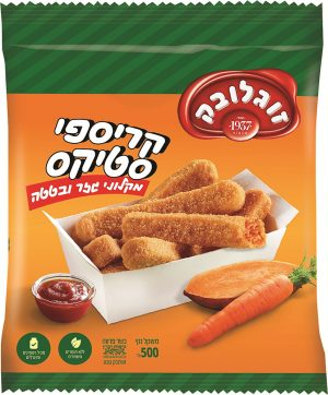 Crispy Sticks Carrot & Sweet Potato Soglowek 500G