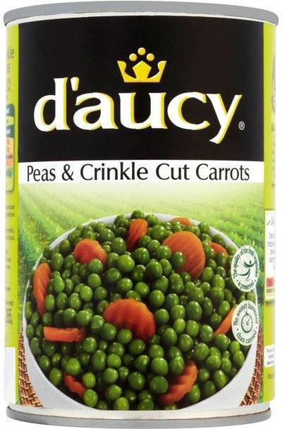 D'aucy Peas & Carrots 400G